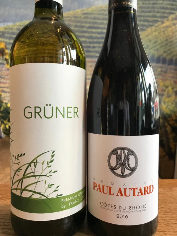 Labor Day Tasting Event: Value Côte du-Rhône & Easy Gulp Grüner image