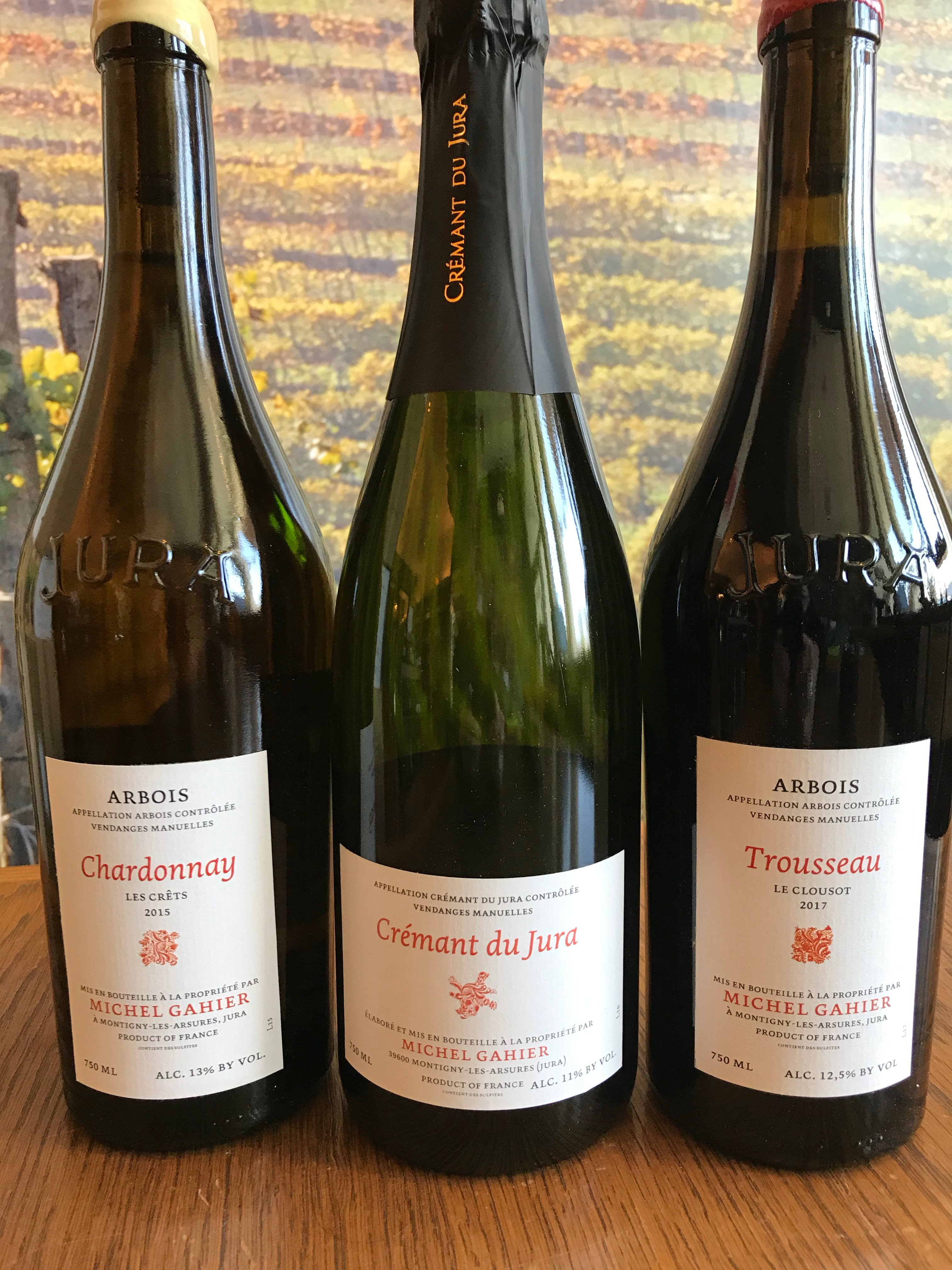 Upcoming Wine Tasting: Michel Gahier image