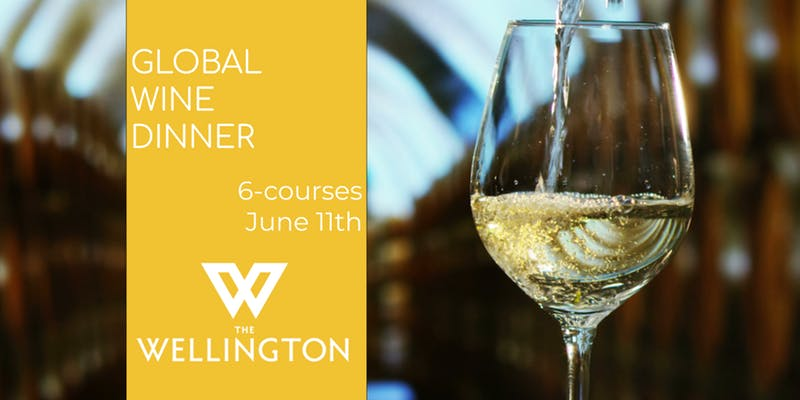 Global Wine Dinner at The Wellington image