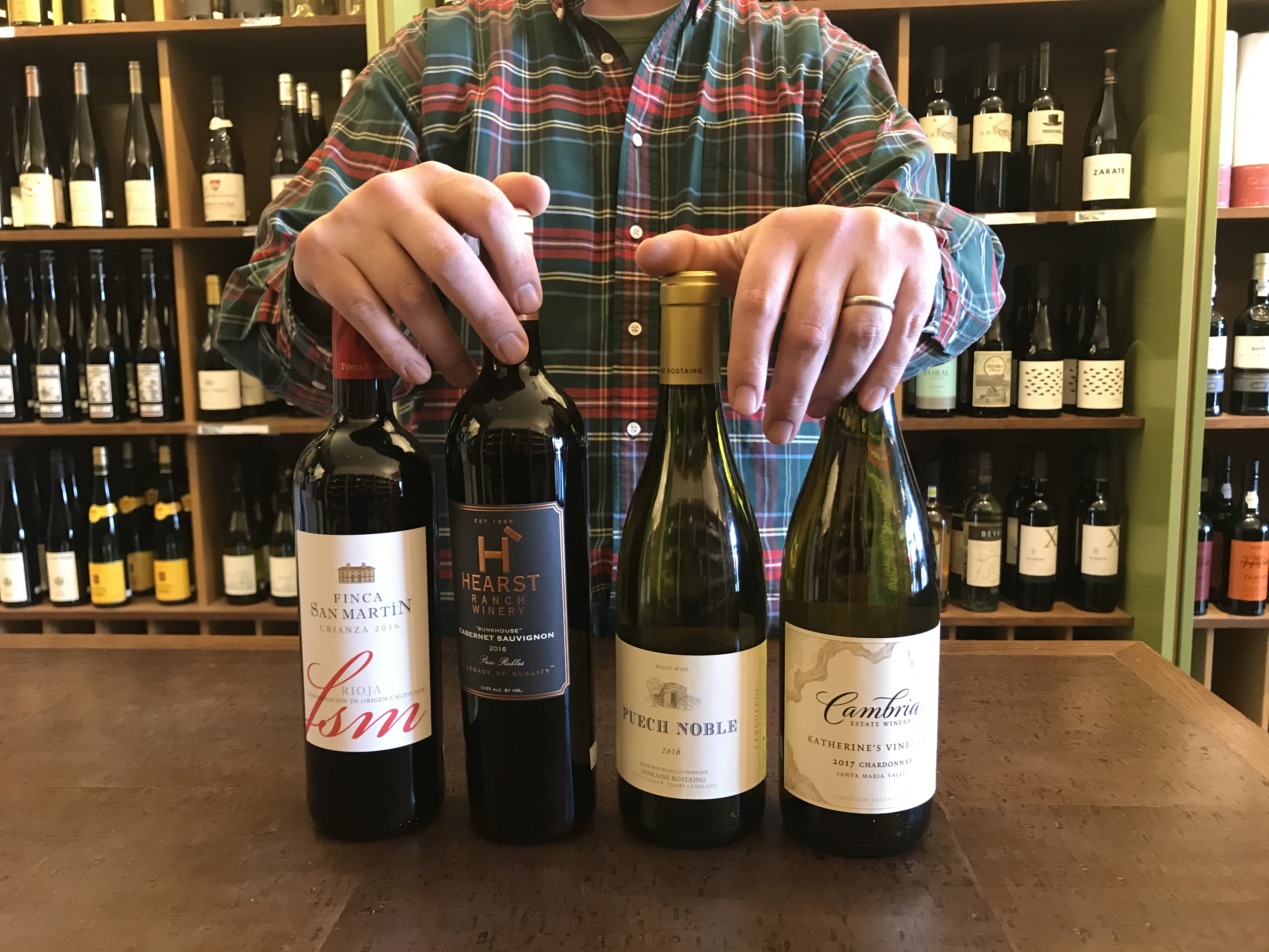 Bring on Spring: Tasting with Richard, Four Favorites. image